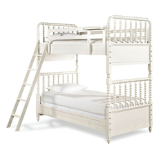 Universal Smartstuff Bellamy Vintage Twin Size Storage Bunk Bed