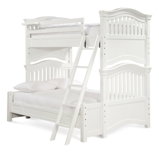 Universal Smartstuff Classics 4.0 Twin Over Full Bunk Bed with Trundle in Summer White