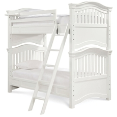 Universal Smartstuff Classics 4.0 Twin Size Bunk Bed in Summer White