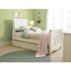Universal Smartstuff Gabriella Full Size Panel Bed with Trundle