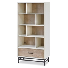 Universal Smartstuff #myRoom Bookcase in Gray and Parchment