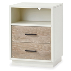 Universal Smartstuff #myRoom Nightstand in Gray and Parchment