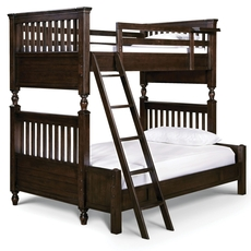 Universal Smartstuff Paula Deen Kids Guys Twin Over Full Size Storage Bunk Bed