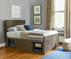Universal Smartstuff Varsity Full Size Reading Storage Bed