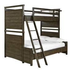 Universal Smartstuff Varsity Twin Over Full Size Storage Bunk Bed