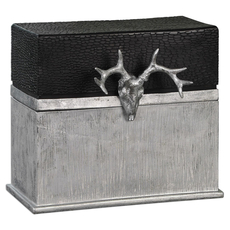 Uttermost Adil Black Silver Box