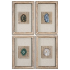 Uttermost Agate Stone Set of 4
