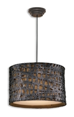 Uttermost Alita Metal Hanging Shade in Black