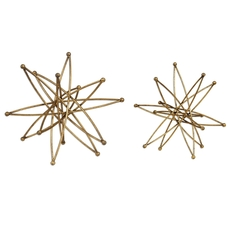 Uttermost Constanza Gold Atom Accessories Set of 2