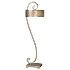 Uttermost Dalou Scroll Silver Floor Lamp