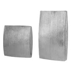 Uttermost Darla Aluminum Vases Set of 2