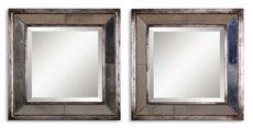 Uttermost Davion Square Mirror Set