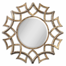 Uttermost Demarco Round Mirror