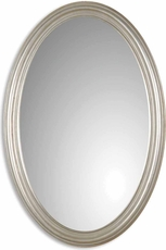 Uttermost Franklin Oval Silver U Mirror