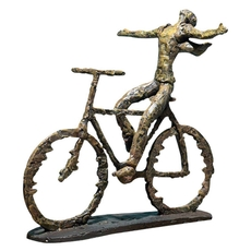 Uttermost Freedom Rider Metal Figurine
