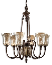 Uttermost Galeana 6 Light Chandelier