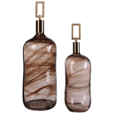Uttermost Ginevra Bottles Set of 2