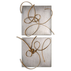 Uttermost Harmony Metal Wall Art Set of 2