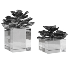 Uttermost Indian Lotus Set of 2