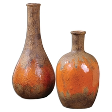 Uttermost Kadam Ceramic Vases Set of 2