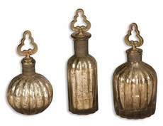 Uttermost Kaho Perfume Bottles Set of 3