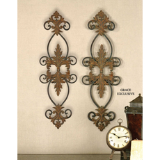 Uttermost Lacole Wall Decor Set of 2