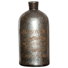 Uttermost Lamaison Mercury Glass Bottle Large