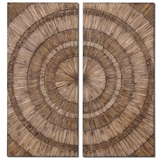 Uttermost Lanciano Wood Wall Art