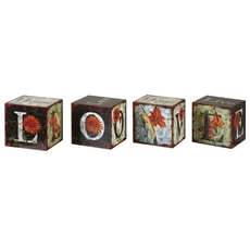 Uttermost Love Letters Decorative Boxes Set of 4