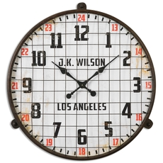 Uttermost Max Aged Wall Clock