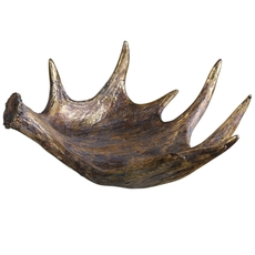 Uttermost Moose Antler Bowl