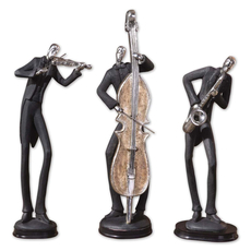 Uttermost Musicians Figurines Set of 3