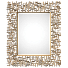 Uttermost Nevena Gold Mirror