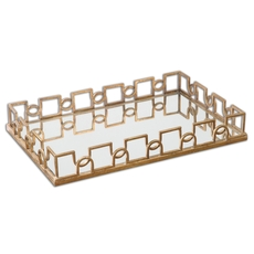 Uttermost Nicoline Mirrored Tray