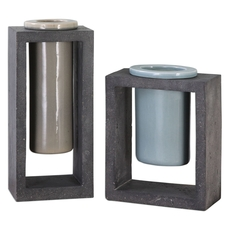 Uttermost Pio Vases Set of 2