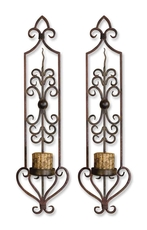 Uttermost Privas Wall Sconces Set of 2