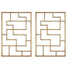 Uttermost Quaid Gold Wall Art Set of 2