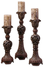 Uttermost Rosina Candlesticks Set of 3