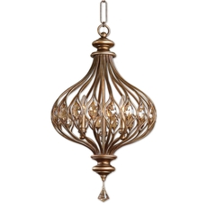 Uttermost Sabina 3 Light Gold Pendant