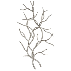Uttermost Silver Branches Wall Art Set of 2