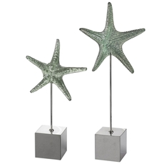 Uttermost Starfish Sculpture Set of 2