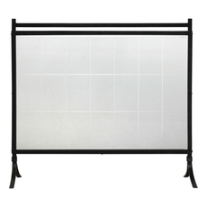 Uttermost Tate Tempered Glass Fireplace Screen
