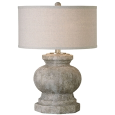 Uttermost Verdello Antiqued Stone Table Lamp