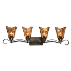 Uttermost Vetraio Vanity Strip 4 Light Fixture
