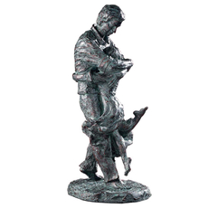 Uttermost Welcome Home Oil Rubbed Bronze Figurine