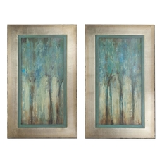 Uttermost Whispering Wind Framed Art Set of 2