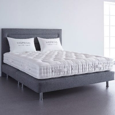 Vispring Elite Medium 9.8 Inch Queen Mattress Only SDMO0221112 - Scratch and Dent Model ''As-Is''
