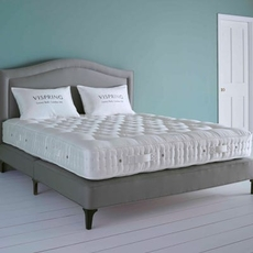 Clearance Vispring Oxford Firm/Medium Dual Coil Tension Queen Mattress Only SDMS0919PL3