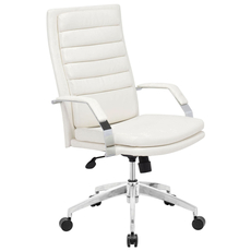 Zuo Modern Director Comfort Office Chair in White