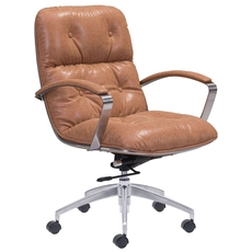 Zuo Era Avenue Office Chair in Vintage Coffee